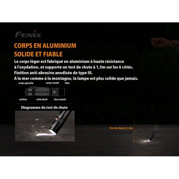 fenix Lampe de Poche Ultra compacte 1600 lumens PD36R